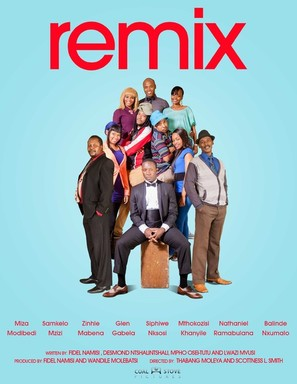 """""""Remix"""" - South African Movie Poster (thumbnail)"""