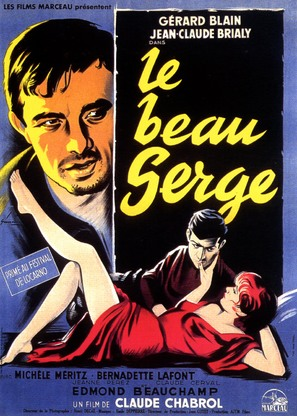 Le beau Serge - French Movie Poster (thumbnail)