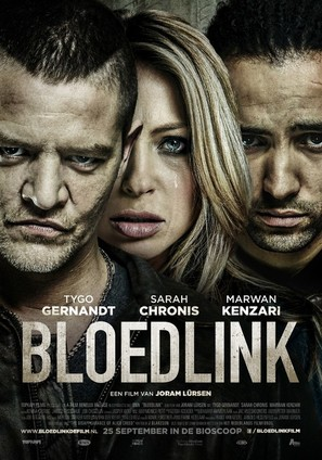 Bloedlink - Dutch Movie Poster (thumbnail)