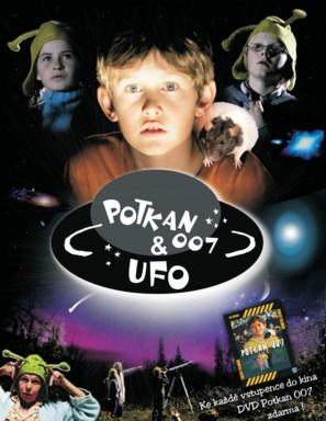 Svein og Rotta og UFO-mysteriet - Czech Movie Poster (thumbnail)