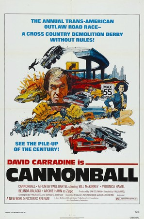 Cannonball! - Movie Poster (thumbnail)