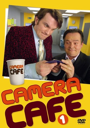 """Camera Cafe"" - Polish DVD cover (thumbnail)"