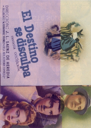Destino se disculpa, El - Spanish Movie Poster (thumbnail)