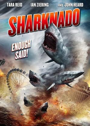 Sharknado - DVD movie cover (thumbnail)