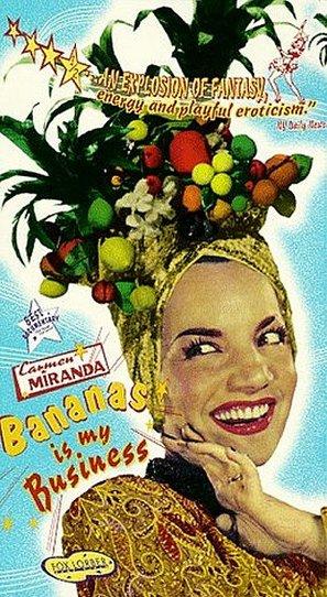 Carmen Miranda: Bananas Is My Business - VHS cover (thumbnail)