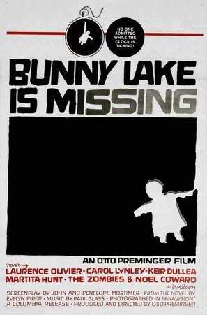 Bunny Lake Is Missing - Theatrical poster (thumbnail)