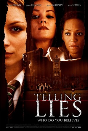 Telling Lies - Movie Poster (thumbnail)