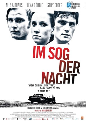 Im Sog der Nacht - German Movie Poster (thumbnail)