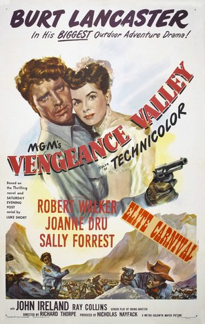 Vengeance Valley - Movie Poster (thumbnail)