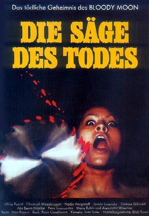Die Säge des Todes - German Movie Poster (thumbnail)