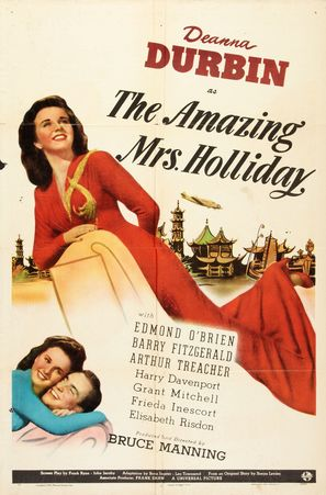 The Amazing Mrs. Holliday - Movie Poster (thumbnail)