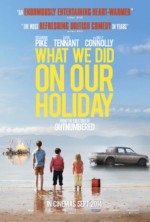 What We Did on Our Holiday - British Movie Poster (thumbnail)