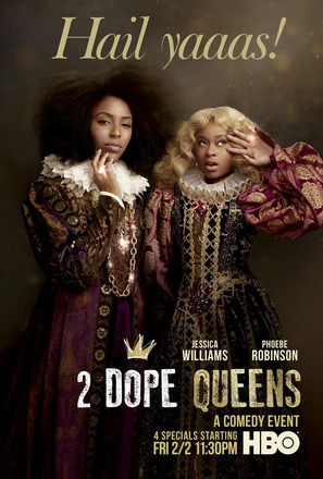 """2 Dope Queens"" - Movie Poster (thumbnail)"