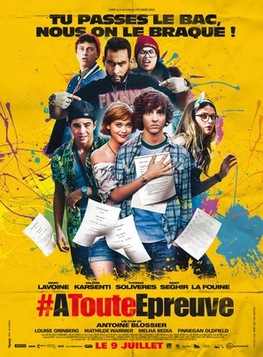 À toute épreuve - French Movie Poster (thumbnail)
