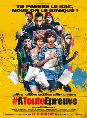 À toute épreuve - French Movie Poster (thumbnail)