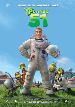 Planet 51 - Canadian Movie Poster (thumbnail)