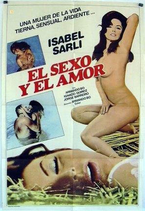 El sexo y el amor - Argentinian Movie Poster (thumbnail)