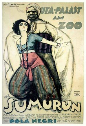 Sumurun - German Movie Poster (thumbnail)