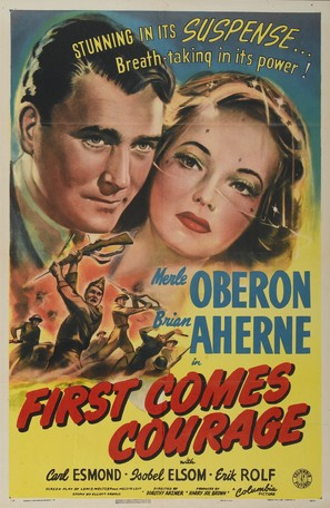 First Comes Courage - Movie Poster (thumbnail)