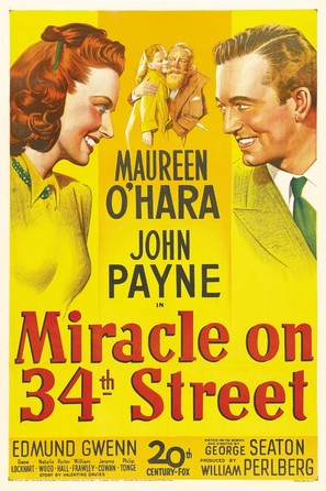 Miracle on 34th Street - Movie Poster (thumbnail)