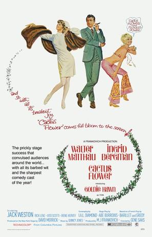 Cactus Flower - Movie Poster (thumbnail)