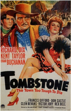 Tombstone: The Town Too Tough to Die - Movie Poster (thumbnail)
