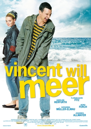 Vincent will meer - German Movie Poster (thumbnail)