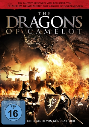 Dragons of Camelot - German DVD cover (thumbnail)