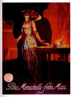 Il fuoco (la favilla - la vampa - la cenere) - Italian Movie Poster (thumbnail)