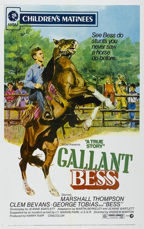 Gallant Bess - Movie Poster (thumbnail)