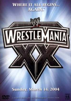 WrestleMania XX - DVD movie cover (thumbnail)