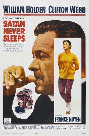 Satan Never Sleeps - Movie Poster (thumbnail)