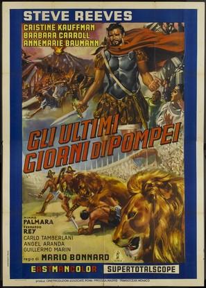 Ultimi giorni di Pompei, Gli - Italian Movie Poster (thumbnail)