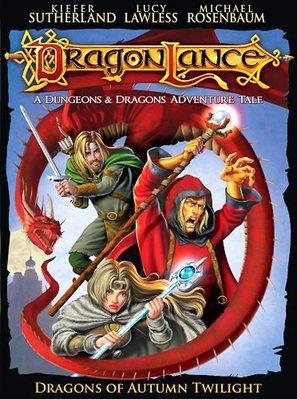 Dragonlance: Dragons of Autumn Twilight - DVD cover (thumbnail)