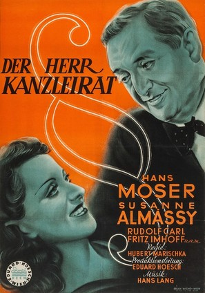 Der Herr Kanzleirat - Austrian Movie Poster (thumbnail)