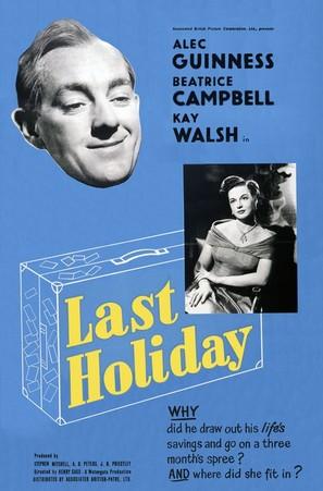 Last Holiday - British Movie Poster (thumbnail)