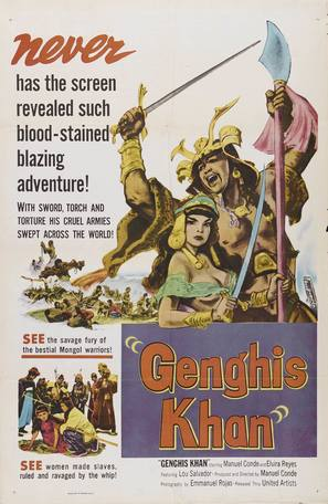 Genghis Khan - Movie Poster (thumbnail)