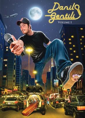Danilo Gentili: Volume I - Brazilian DVD movie cover (thumbnail)