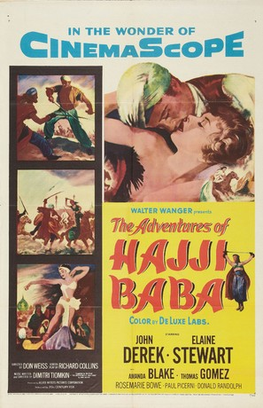 The Adventures of Hajji Baba - Movie Poster (thumbnail)