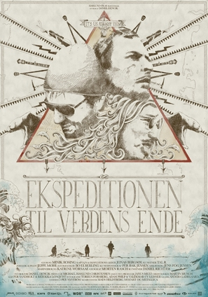 Ekspeditionen til verdens ende - Danish Movie Poster (thumbnail)