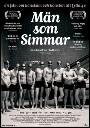 Men Who Swim - Swedish Movie Poster (thumbnail)