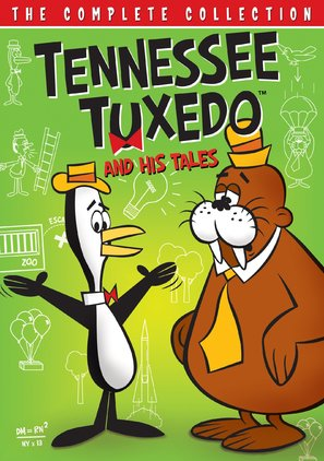 """Tennessee Tuxedo and His Tales"" - DVD cover (thumbnail)"