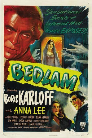 Bedlam - Movie Poster (thumbnail)