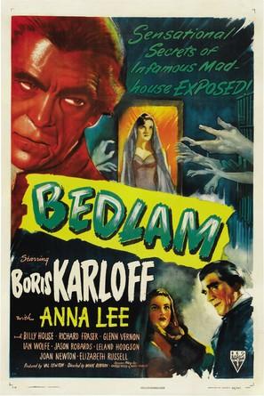 Bedlam - Movie Poster (thumbnail)