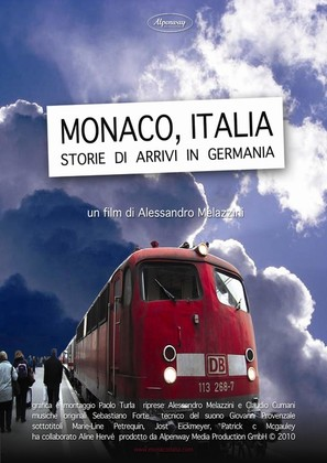 Monaco, Italia. Storie di arrivi in Germania - Italian Movie Poster (thumbnail)