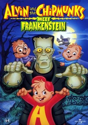 Alvin and the Chipmunks Meet Frankenstein - DVD movie cover (thumbnail)