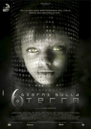 6 giorni sulla terra - Italian Movie Poster (thumbnail)