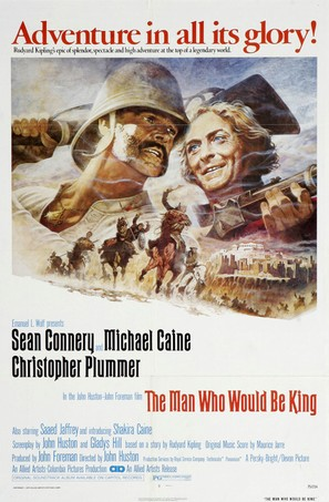 The Man Who Would Be King - Movie Poster (thumbnail)