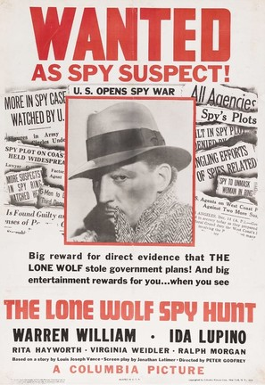 The Lone Wolf Spy Hunt - Movie Poster (thumbnail)