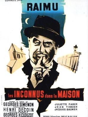 Les inconnus dans la maison - French Movie Poster (thumbnail)